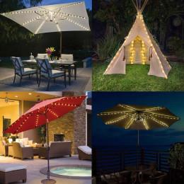 104LED Sun Umbrella Decoration Light