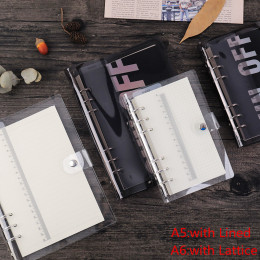 Loose leaf binder loose strap loose leaf inner core A5 A6 note book small fresh and soft hand book