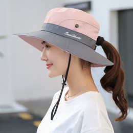 Outdoor climbing hat, sun protection, fisherman hat, sun hat, breathable