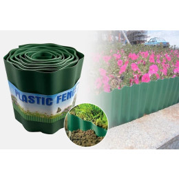 Garden fence plastic fence inserting the ground fence to fight gardening grass fence