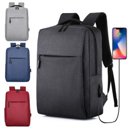 Business Laptop Backpack Side Load Computer Usb Port Travel Backpack