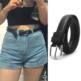 Metal Pin Buckle Waist Belt