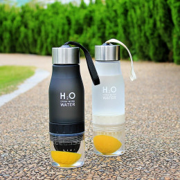 Portable Outdoor Cycling Sport Lemon Bottle