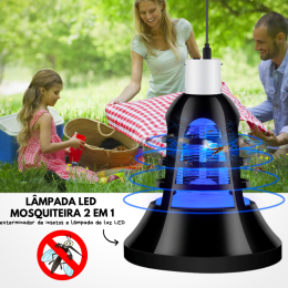 2 in1 LED Anti-Mosquito Lamp Bulbs