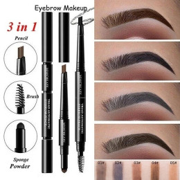 3in1 eyebrow pencil waterproof long lasting