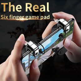 Mobile Game Controller Gamepad Trigger For IPhone Android