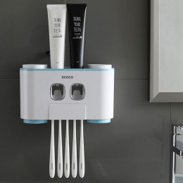 Ecoco Toothbrush Holder with 4cups