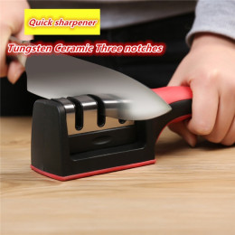 Professional 3 Stages Quick Sharpener Non-Slip Grinder