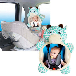 Baby mirror for the car
