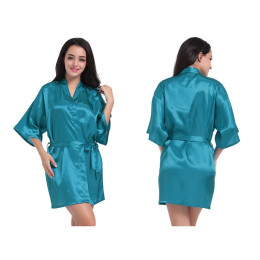 Sexy Satin Night Bathrobe