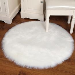 Artificial Sheepskin Rug Bedroom Mat Decoration