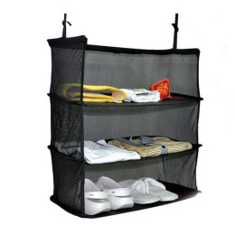 Packable Hanging Travel Shelves