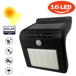 16 LED's Light Solar Outdoor lamp