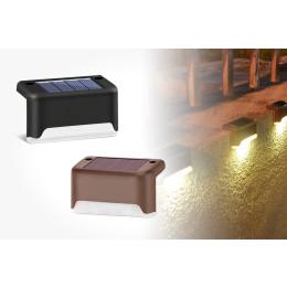 2 or 4 pcs Solar railing light stair light outdoor waterproof LED step light