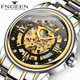 Men¡¯s Luxury Automatic Stainless Steel Watches