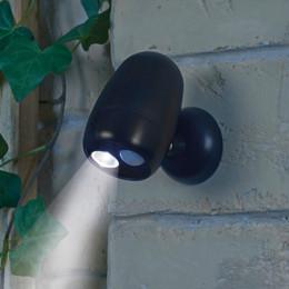 Wireless LED Motion Sensor Lights or Twin Spotlights