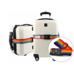 Luggage Combination lock Bundling belt