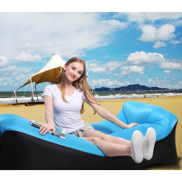 Inflatable sofa with pillow