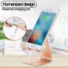 Aluminum alloy single folding mobile phone holder