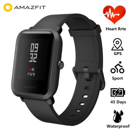 Smart Watch  Amazfit Bip Huami Mi Pace Lite IP68 GPS Gloness Smartwatch