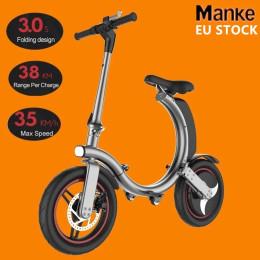 14'' Elektrisk løbehjul med komfortabelt sæde