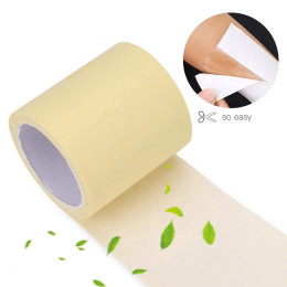 1 roll disposable armpit prevent sweat pads transparent armpits dry dry antiperspirant adhesive
