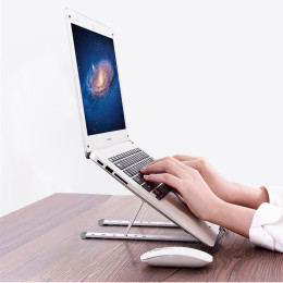 Folding Portable  Aluminum Alloy Adjustable Laptop Stand