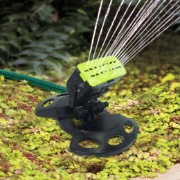 Automatic swing nozzle sprinkler