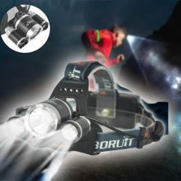 Boruit RJ-5000 Torch Headlamp Headlight
