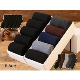 Men's Cotton Socks Plus Fleece Socks Long Tube Warm Cotton Terry sock