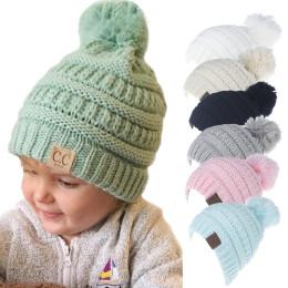 Baby Warm Pom Hat