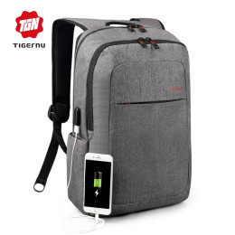 Tigernu Business Waterproof Large Capacity USB Charging Backpack