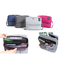 Small giant bag with many compartments with 6 color for your choice