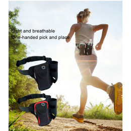 Multi-functional Unisex Running Outdoor Sports Water Bottle Waist Bag