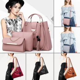 Large Handbag 3pcs Set Tote Shoulder Bag