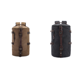 Retro Cylinder Backpack