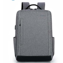 Water Resistant Travel Backpack with USB Charging Port