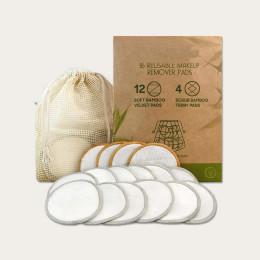 16pcs/Bag Reusable cotton pads