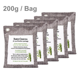Car Dehumidifier Bags Bamboo Charcoal 200g/Bag