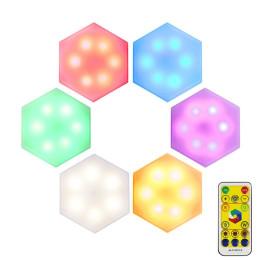 RGB DIY battery cabinet wall light