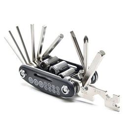 16-in-1 bicycle multifunctional repair tool