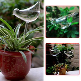 Creative Bird Shape Glass Automatic watering device