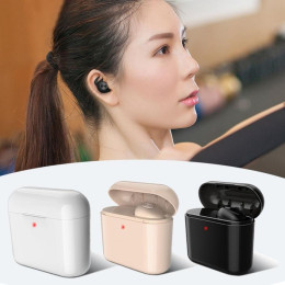BL1 Mini Bluetooth Earphone Wireless Invisible Sport Headset