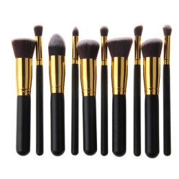 10 Pcs Make Up Brush Set
