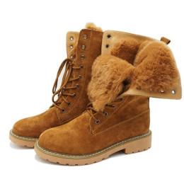 Women's plush lining boots