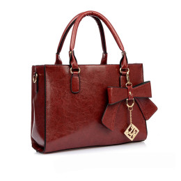 Women's retro bow handbag