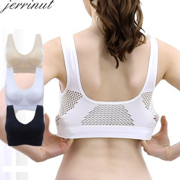 Bras for woman plus size seamless breathable cotton bra wireless underwear with pads push up bra