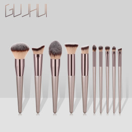 4pcs/Pack 10Pcs/Pack Professional Premium Glow Makeup Brush Set