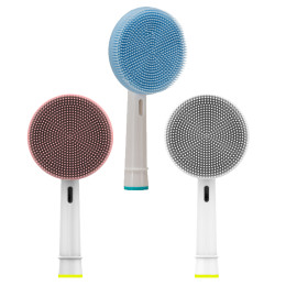 2pcs/Pack Facial and Electric Toothbrush Cleaning Head