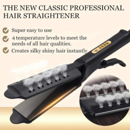 Ceramic Portable Ionic Hair Straightener Dry and wet dual use